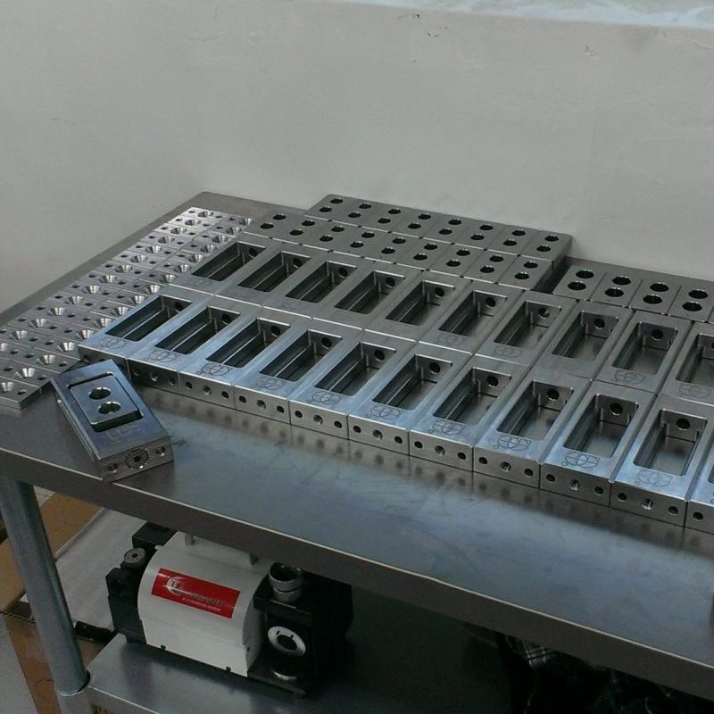 CNC production runs